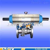 两段式气动球阀、双电控贴板式电磁阀。