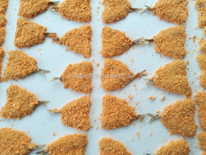 竹荚鱼、青鱼、鳕鱼裹粉挂浆1946线网址