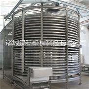 LXSD-1000-烤肠双螺旋速冻机 丸子螺旋速冻机 包子螺旋速冻机