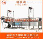 TSXQ-50莲藕高压喷淋气泡清洗机