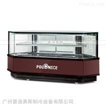 广州普洛莱斯工厂八角蛋糕展示柜保鲜蛋糕