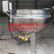 立式固定蒸汽夹层锅