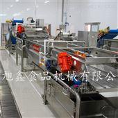 JCL-8000中央厨房清洗流水线