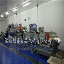 净菜加工设备之萝卜切丝清洗流水线机器