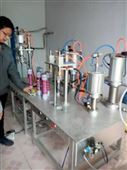 迅速罐装空调清洗剂生产罐装机器