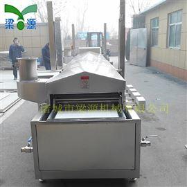 梁源-全自动上罩提升肉排油炸生产线