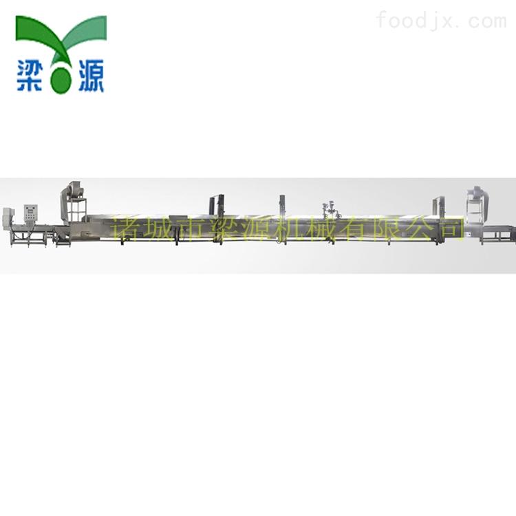 全自动鱼豆腐蒸汽生产线 蟹排蒸汽流水线