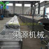 全自动肉排蒸汽生产线 鱼豆腐蒸汽隧道