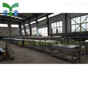 全自动大型鱼豆腐蒸汽生产线 蒸汽隧道