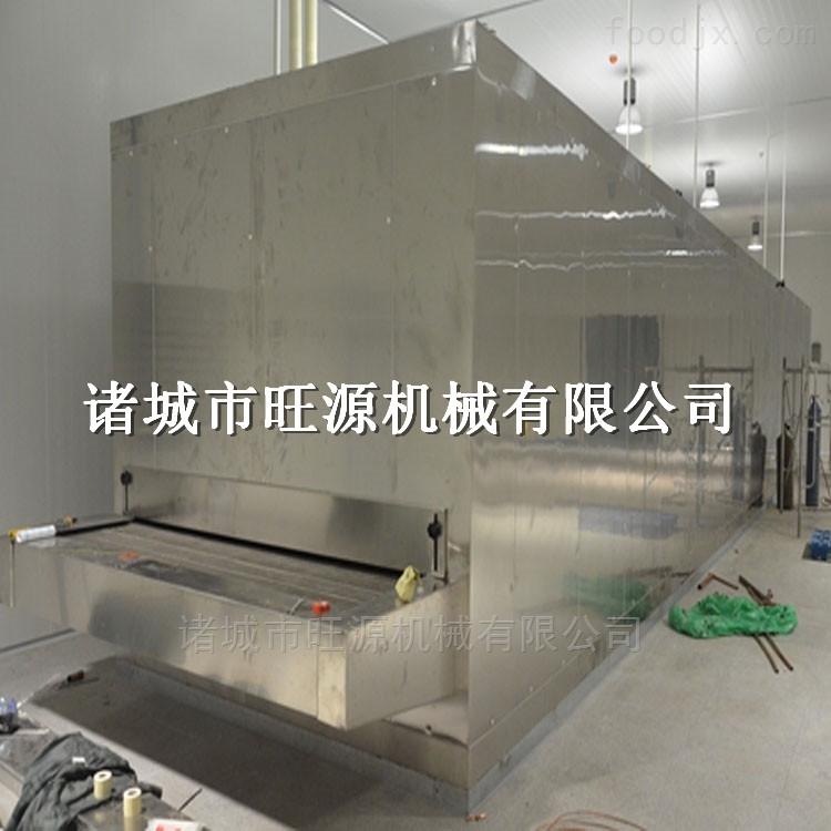 小型水饺隧道速冻机