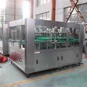 CGF32-32-10厂家供应葡萄玻璃瓶三旋盖三合一灌装机