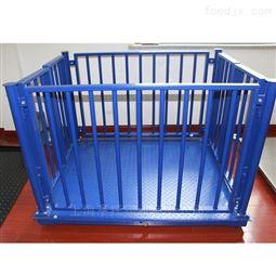 南宁1吨猪笼电子秤 2000kg围栏畜牧磅秤