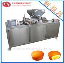 台湾合強蛋糕擠出機,全自動蛋糕設備生產線