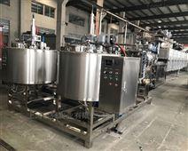 实地工厂伺服明胶、果胶、卡拉胶软糖浇注生产设备 双色软糖生产