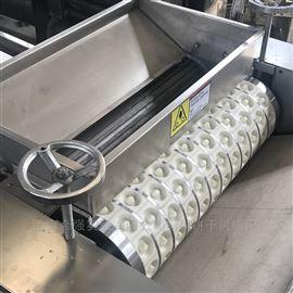 HQ--800型饼干成套生产线 巧克力注芯饼干机械 酥性饼干机隧道炉