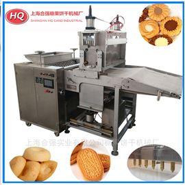 HQ-600全自动饼干生产线 注芯饼干设备 巧克力机械