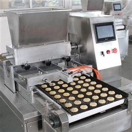 HQ-CK400/600PLC连续曲奇蛋糕填充机