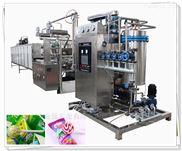 水果硬糖浇注生产线 喷花硬糖生产线 水果硬糖成型机