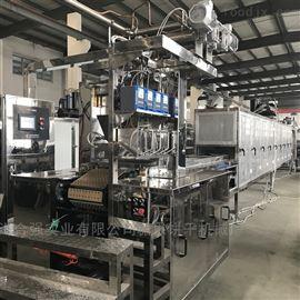 双色夹芯软糖浇注生产线机组