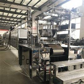 软糖硬糖熬煮系统 全自动浇注生产线 可乐瓶糖果设备