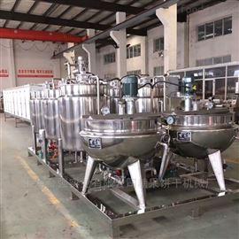 HQ-150~600厂家直销全自动胶体软糖浇注生产线 软糖浇注成型生产线