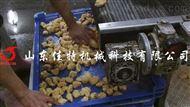徐州全自动刮渣式鸡米花油炸机