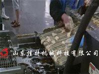 山东佳特锅包肉油炸机,油炸流水线成套设备