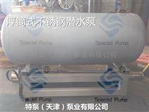 不锈钢浮筒式潜水泵参数