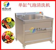 小型超声波洗菜机 单双缸气泡清洗机