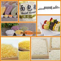 面包糠生产设备厂家,雪花片加工机械