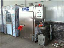 外置发烟器不锈钢牛肉全自动可蒸煮烟熏炉