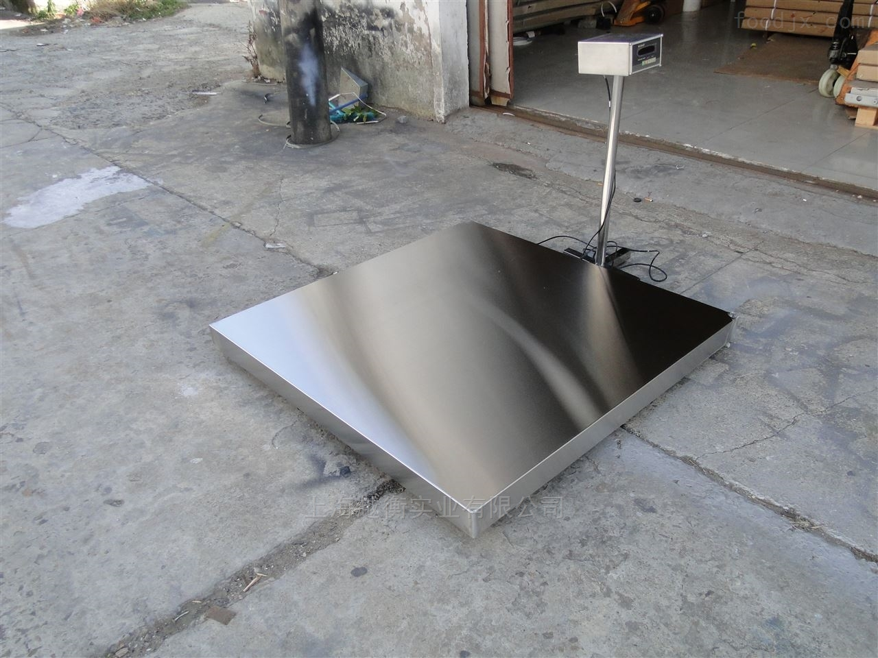 单层小地磅  1.5m*3m方便搬运的电子台秤