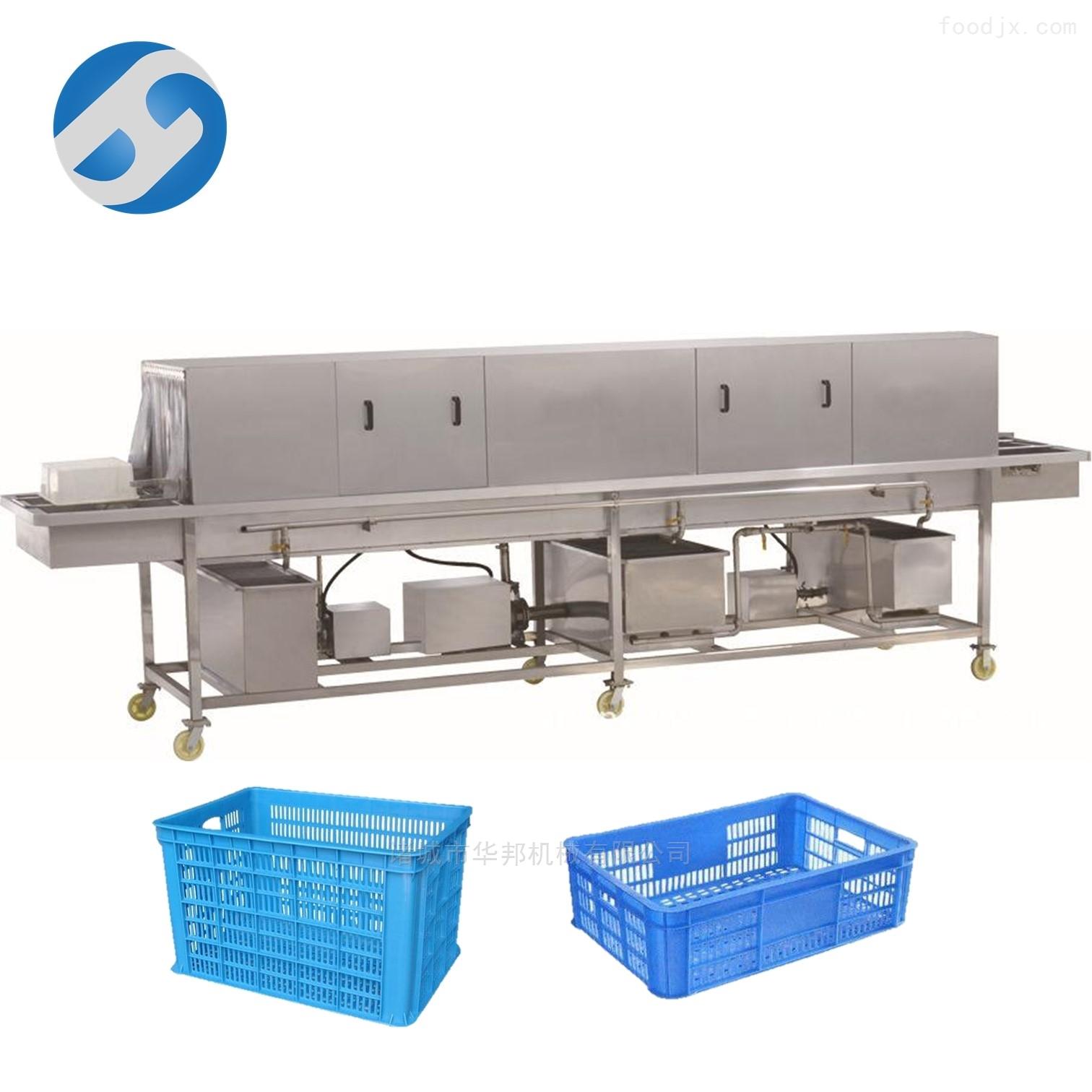 蔬菜周转筐清洗机 熟料托盘专用清洗设备