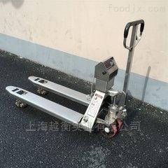 2T上海电子叉车称价格、电子拖车秤维修