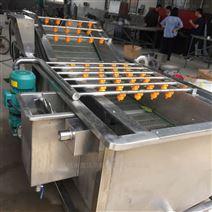 小龙虾皮皮虾气泡清洗机 海鲜清洗去杂设备