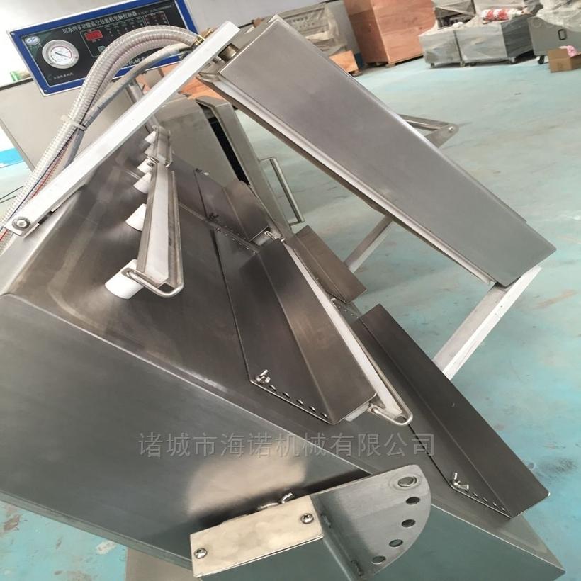 400/2s大米成型真空包装机 双室连续式真空封口机