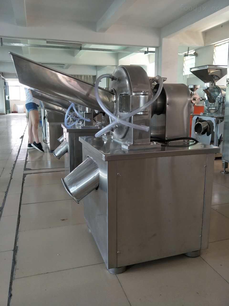不锈钢低温粉碎机 304不锈钢化工原料打粉机
