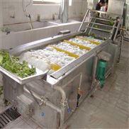 果蔬清洗流水线设备 冷冻蔬菜清洗机