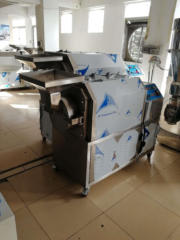 豪华商用板栗高效炒货机|电加热花生芝麻炒货机