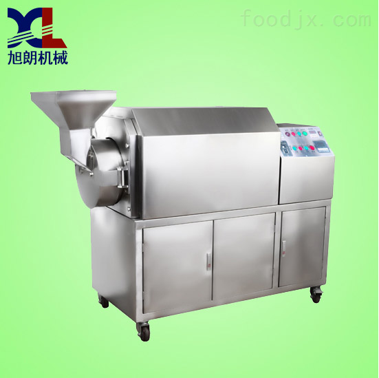 不锈钢商用温控型豪华炒货机|板栗炒货设备