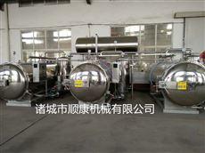 不鏽鋼旋轉噴淋式殺菌鍋  不鏽鋼殺菌鍋廠家