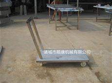 不锈钢小推车(诸城食品机械)