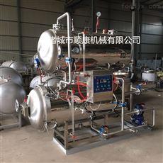 全自動熱水循環式高溫高壓殺菌鍋