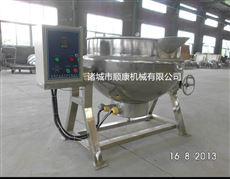 可傾攪拌夾層鍋 電加熱夾層鍋廠家