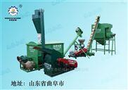 全自动颗粒饲料加工机组 时产500公斤
