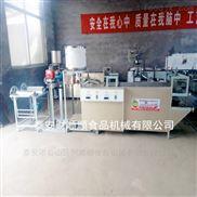 白城全自动干豆腐生产厂家 仿手工豆腐皮机