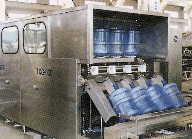小型三合一五加仑桶装纯净水灌装机