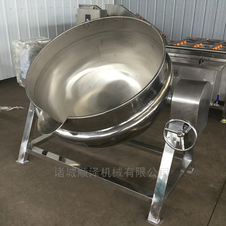 全自动不锈钢骨头熬制锅 搅拌夹层锅