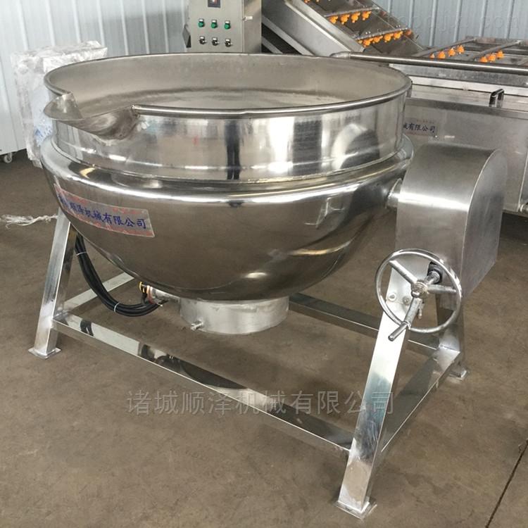 全自动食堂炒菜锅 带搅拌蒸煮夹层锅
