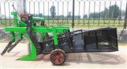 拖拉机皮带带动花生收割机